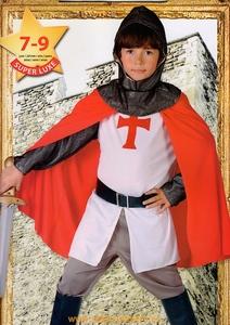 chevalier croisé templier panoplie 7/9 ans deguisement