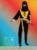 ninja jaune  7/9 ans Deguisement costume