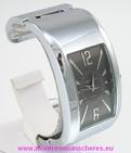 Montre femme bracelet clip acier watch uhr