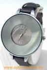 Montre femme acier satin gris watch uhr
