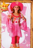 hippie, peace and love, pop 4/6 ans Deguisement costume
