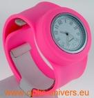 Montre Femme bracelet Clic Clac Softouch Dia 4 cm rose