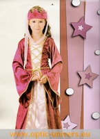 Princesse rouge 7/9 ans deguisement panoplie