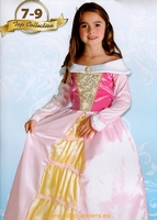 princesse rose crinoline 7/9 Deguisement costume enfant